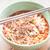 gekruid · soep · eetstokjes · houten · tafel · voedsel - stockfoto © nalinratphi