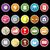 colección · humanos · negocios · éxito · dinero · iconos - foto stock © nalinratphi