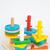 colorido · quebra-cabeça · brinquedo · de · madeira · branco · tabela · estoque - foto stock © nalinratphi