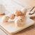 tintahal · grillezett · labda · fából · készült · tányér · stock - stock fotó © nalinratphi