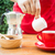 homemade cup of hot espresso stock photo © nalinratphi