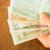 internacional · monedas · banco · nota · mesa · de · madera · stock - foto stock © nalinratphi