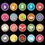 social · media · netwerk · lang · schaduw · hoofdtelefoon - stockfoto © nalinratphi