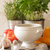 preto · restaurante · prato · cremoso · sopa · de · tomate · tabela - foto stock © naltik