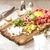 carne · toast · pane · aglio · parmigiano · cena - foto d'archivio © naltik