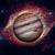 planet jupiter nebula on the background stock photo © nasa_images