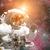 astronaute · espace · nébuleuse · image · homme - photo stock © nasa_images