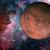 sistema · solar · quarto · planeta · sol · fino · atmosfera - foto stock © nasa_images