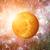 sistema · solar · segundo · planeta · sol · lua · naturalismo - foto stock © nasa_images