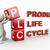 3D · produit · vie · cycle · 3d · illustration · circulaire - photo stock © nasirkhan