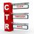 3d modern signboard of ctr stock photo © nasirkhan