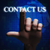3d finger touching contact us illustration stock photo © nasirkhan