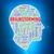 menselijke · hoofd · verbeelding · illustratie - stockfoto © nasirkhan