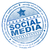 grunge social media rubber stamp stock photo © nasirkhan