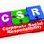 3d csr puzzle pieces illustration stock photo © nasirkhan