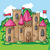 cartoon fairy tale castle stock photo © natali_brill