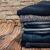 czarny · denim · dżinsy · tekstury · tkaniny · streszczenie - zdjęcia stock © natali_brill