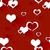 fehér · szeretet · szívek · piros · végtelen · minta · rajz - stock fotó © natali_brill