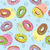 seamless pattern with donuts stock photo © natali_brill