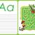 alfabeto · carta · menina · crianças · maçã · estudante - foto stock © natali_brill