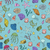 Seamless pattern with colorful sea creatures stock photo © Natali_Brill