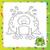 cartoon · rana · prince · illustrazione · cute · mascotte - foto d'archivio © natali_brill