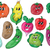 funny various cartoon vegetables stock photo © natali_brill