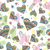 seamless pattern of drawing doodle hearts stock photo © natali_brill