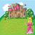 labirinto · jogo · princesa · encontrar · maneira · castelo - foto stock © Natali_Brill