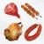 meat food set   polygonal vector stock photo © natali_brill