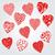 バレンタインデー · ステッカー · 結婚式 · 中心 · デザイン · カップル - ストックフォト © natali_brill