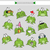 frog vector stickers stock photo © natali_brill