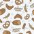 végtelen · minta · pékség · termékek · művészet · kenyér · búza - stock fotó © Natali_Brill