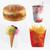 fast · food · poster · tekst · monster - stockfoto © natali_brill