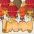 hot air balloons postcard stock photo © natali_brill