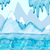 Cartoon winter landscape with iceberg and ice stock photo © Natali_Brill