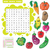 Vector education game for children about vegetables. Word search puzzle stock photo © Natali_Brill