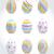 bonitinho · colorido · páscoa · pintado · ovos - foto stock © natashasha
