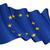флаг · Европейское · сообщество · ветер · небе · фон · звезды - Сток-фото © nazlisart