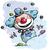 clown juggling   boy colors stock photo © nazlisart