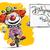 verjaardagsfeest · clown · partij · gelukkig · kinderen · groep - stockfoto © nazlisart