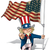 uncle sam i want you   us wwi wwii 48 star flag stock photo © nazlisart