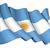 argentín · zászló · Buenos · Aires · ház · épület · város - stock fotó © nazlisart