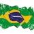 grange flag of brazil stock photo © nazlisart