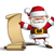 happy santa   gift list stock photo © nazlisart