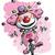 かわいい · ピエロ · 笑い · 実例 · ポインティング - ストックフォト © nazlisart