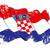 zászló · grunge · illusztráció · integet · piros · szél - stock fotó © nazlisart
