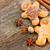 gingerbread · man · jeden · tradycyjny · domowej · roboty · drewniany · stół - zdjęcia stock © neirfy
