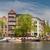 kanal · Amsterdam · bahar · lale · Hollanda · Bina - stok fotoğraf © neirfy