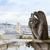 démon · hölgy · Párizs · sziluett · nyár · nap - stock fotó © neirfy